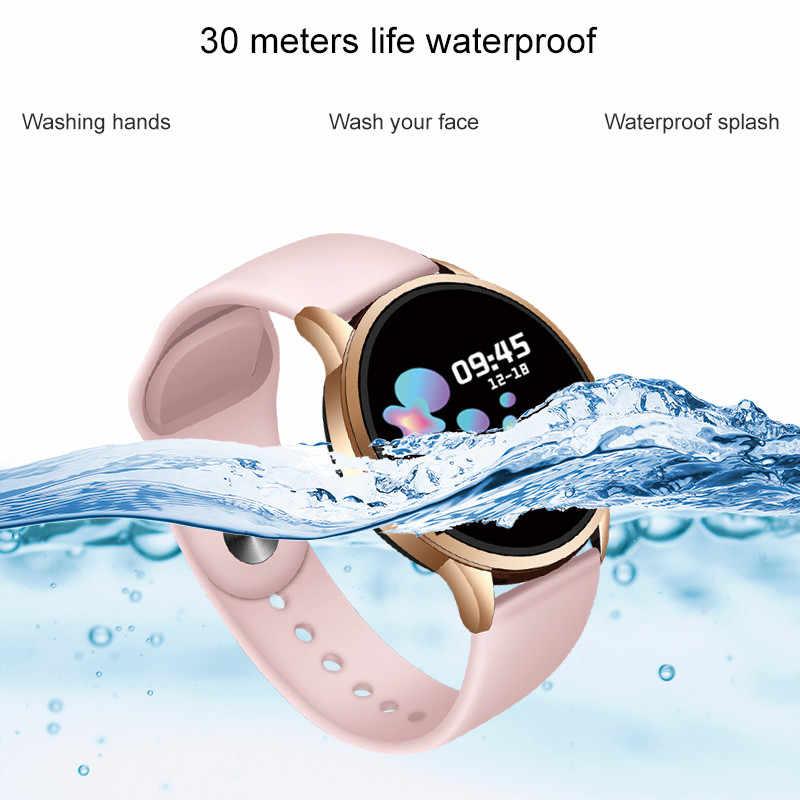LIGE 2020 yeni su geçirmez kadın akıllı saat spor Smartwatch kalp hızı izleme fonksiyonu spor izci moda akıllı saat es
