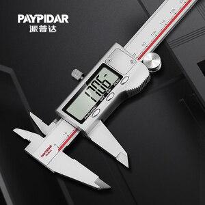 Image 1 - Dial Caliper 150mm Digital Vernier Caliper 300mm Lcd Digital Electronic Measure Gauge Metal Caliper Stainless Steel