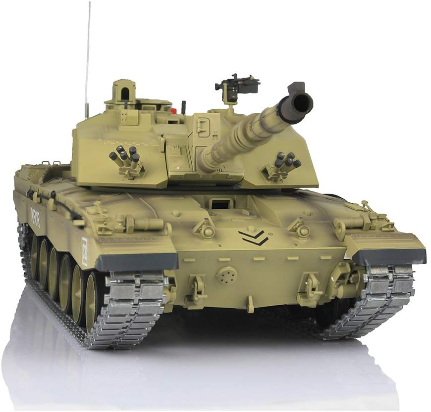 UK Stock Henglong 1//16 6.0 Infrared Challenger II RC Tank 3908 Metal Tracks