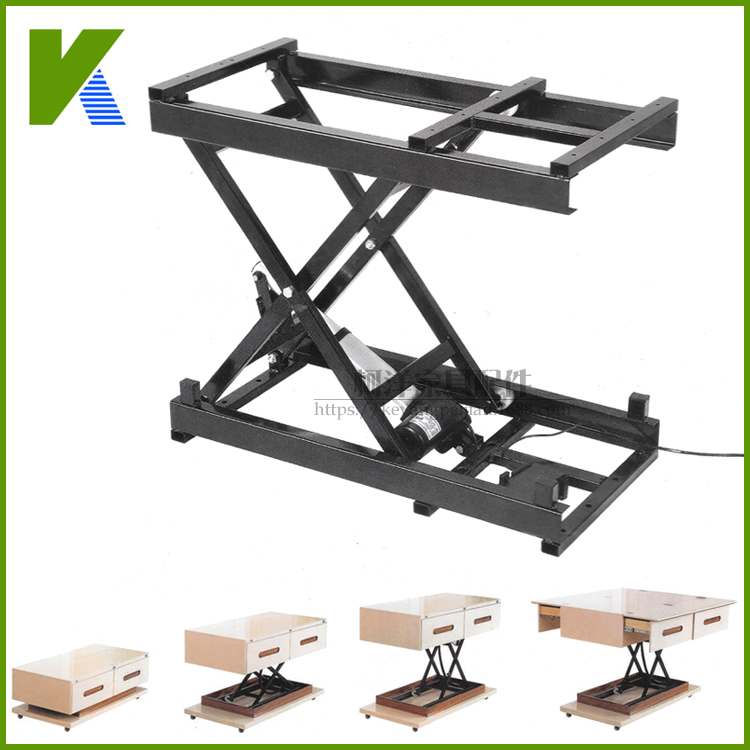 TV-lift Intelligent Custom-made Household Fitting For Electric Lifting Tea Table And Table Hardware Folding Iron Frame Lifte
