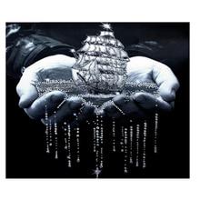 Needlework Diamond Embroidery Landscape Diamond Mosaic Painting Rhinestones Cross Stitch Diamond Painting Boat In Handwork gx flower bird painting rhinestones needlework diamond mosaic diamond embroidery beaded embroidery diamond painting cross stitch