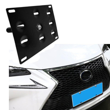 New Bumper Tow Hook License Plate Mounting Bracket Holder For LEXUS IS200t IS300 IS250 IS350 ISF fit 06 13 lexus is250 is350 4dr in s style poly urethane rear bumper lip