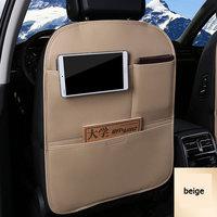 Multifuncional assento de carro volta bolso saco armazenamento estiva tidying protetor crianças bebida organizador caixa viagem auto accessoires Capas p/ assento de automóveis     -