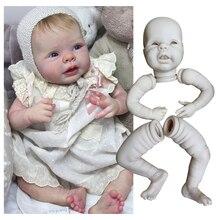 22 дюймовые наборы кукол Reborn для мягких виниловых кукол Reborn аксессуары для детских кукол DIY детали игрушечных кукол Неокрашенные Пустые куко...