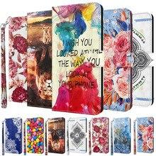 3D สีสันโทรศัพท์กรณีสำหรับ Samsung Galaxy A02S A12 A32 A42 A52 A72 5G A11 A21 A31 A41 a51 A71กระเป๋าสตางค์หนัง