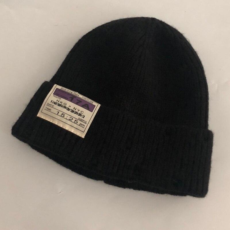 Повседневные новые зимние шапки однотонная шерстяная теплая