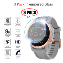 9H Tempered Glass Clear Protective Film For Garmin Screen Protector Fenix 5 5s 6 6s 6x Cover Protection for fenix5 Fenix6 Watch