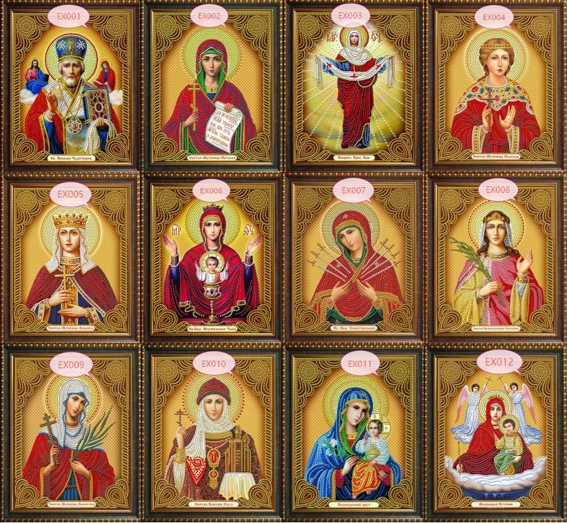 Religion Icon of Leader Diamond Mosaic True religious men diamond embroidery rhinestones 30*40CM 5D DIY Diamond Paintings