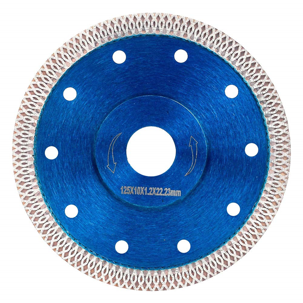 Cutting Porcelain Tiles Super Thin Diamond Disc Saw Blade For Granite Marble Ceramics Match With Hand-held Machine