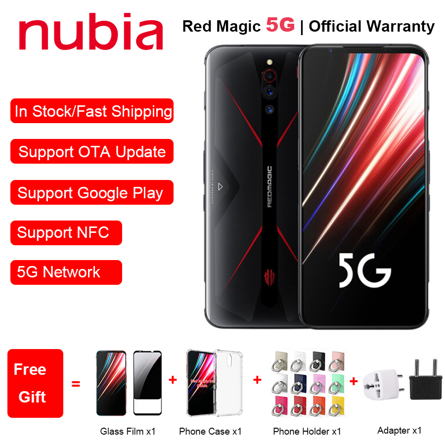 New EU Version  ZTE Nubia Red Magic 5G Mobile Phone 6.65
