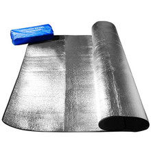2020 nuevo papel de aluminio impermeable de aluminio papel manta de Camping EVA plegable dormir Picnic en la playa colchón al aire libre Mat Pad 3 tamaño 100 ~ 200X300CM