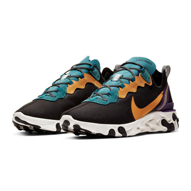 Original New Arrival NIKE REACT ELEMENT 55 PRM SP20 Men's Running Shoes Sneakers Men's Fashion