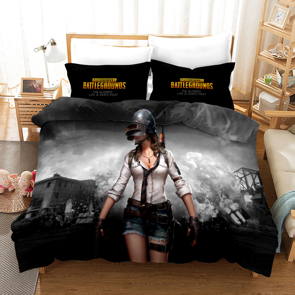 3D Game Bedding Set Sex Women Pillowcases Comforter Bedding Sets for Adults Kids AU Twin Queen Double King Size Bed Linen image