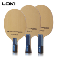 LOKI Arthur EURO ALC Table Tennis Blade Professional 7 Ply Hinoki Carbon Ping Pong Blade Fast Attack Arc Table Tennis Racket