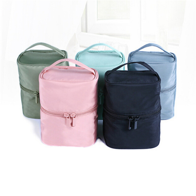 Travel Bag Makeup Pouch Handbags Case Cylinder Toiletry Bag Hot Sale 2020 New Creative High Quality Convenience Cosmetic Bag