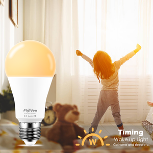 Image 5 - E27 ampoule intelligente 15W WiFi lampe LED changement de couleur ampoule magique lumières de réveil compatibles avec Alexa Google Assistant livraison directe