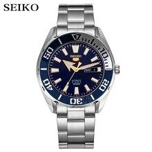 Seiko שעון גברים 5 אוטומטי שעון יוקרה מותג עמיד למים ספורט שעון יד תאריך mens שעונים צלילה שעון relogio masculino SRP