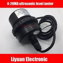 4 20MA מד רמה קולי/ביוב רמת משדר/חומר רמת מים רמת מחוון/0 5M קולי חיישנים
