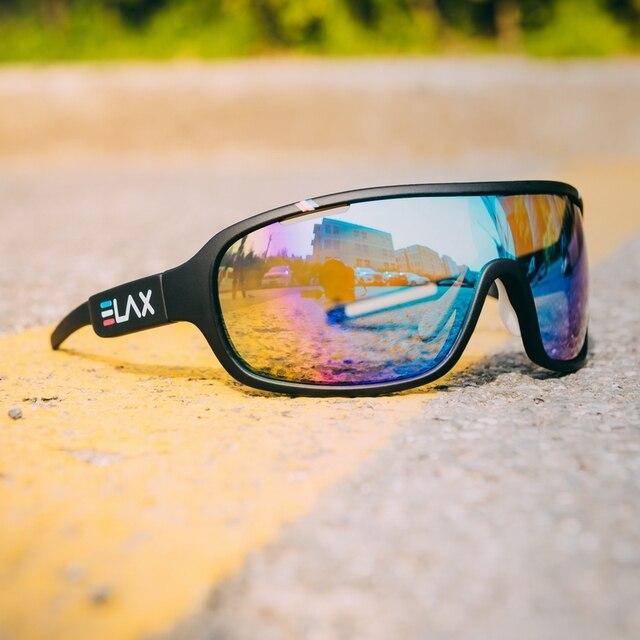 Elax marca 2019 novo esporte ciclismo óculos de sol das mulheres dos homens ao ar livre ciclismo mtb bicicleta óculos uv400 2