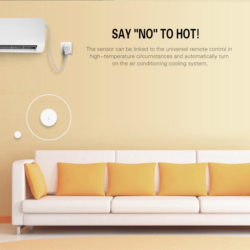 NEW Temperature And Humidity Sensor XiaoMi Smart Home Intelligent Temperature Sensor Battery Powered Automation