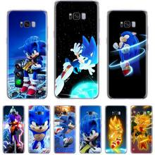 Sonic The Hedgehog the film Soft black Phone Case For