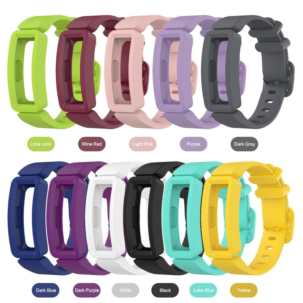 New Arrival Silicone Replacement Watch Band Wrist Strap Watchband For Fitbit Inspire HR/Fitbit ACE 2 Smart Bracelet