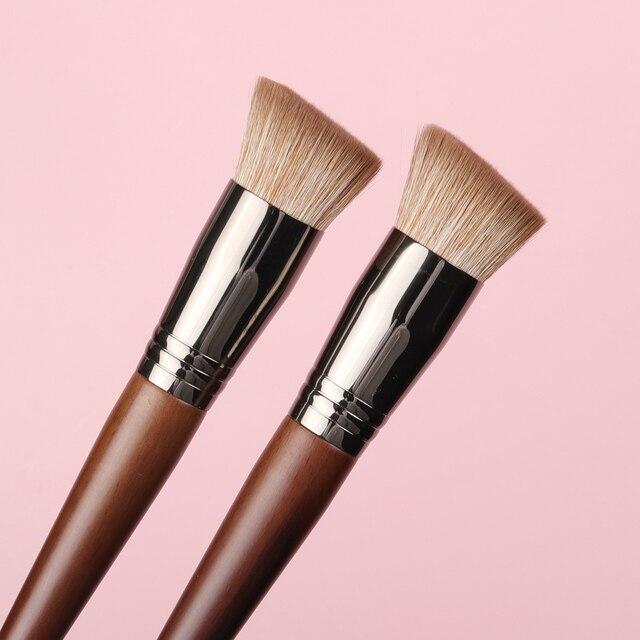 OVW NEW Foundation Brush Series Soft Duo Use Powder Liquid Brushes Concealer Blusher Cream Brushes Mask Brush 1PC 3