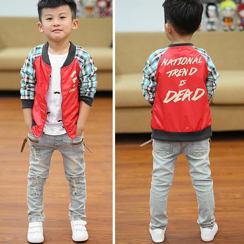 Ienens 5 13Y Bambini Vestiti Dei Ragazzi Skinny Jeans Classico Dei Bambini Dei Pantaloni Denim Abbigliamento di Tendenza a Lungo Gonne E Pantaloni Del