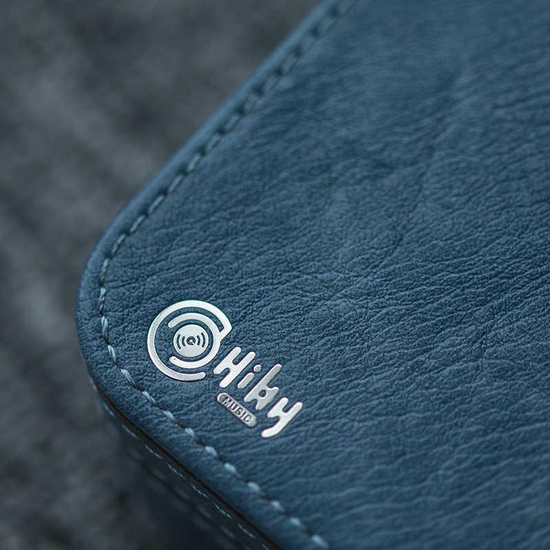 HiBy Bao Da Cao Cấp Bảo Vệ Bên Ngoài Túi Cất Giữ Tai Nghe Cáp USB Sạc Điện Thẻ Micro SD Phụ Kiện