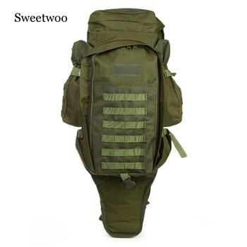 Outdoor 60L Outdoor Backpack Military Tactical Bag Pack Rucksack For Hunting Shooting Camping Trekking Hiking Traveling 1000d tactical backpack military 50l nylon large capacity rucksack mochila for men outdoor travel hiking hunting camping man bag