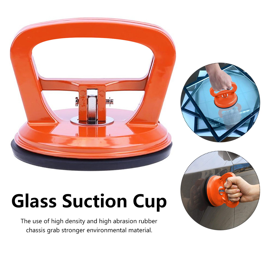 Glass Suction Cup  Repair Tools Fix Mend Puller Pull Tool Strong Suction Cup Car Repair Kit Bodywork Handheld Kit Repair Removal