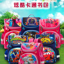 Russian Style Delune Hard Case Stereotypes Children's School Bag Young STUDENT'S Burden Relieving School Bag Currently Available(China)