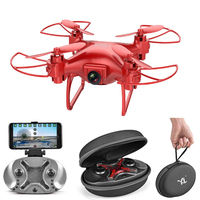 RC Mini Drone With HD Camera WiFi APP Gravity Voice Control Helicopter Video Transmission Portable Quadcopter For RC Toy S26
