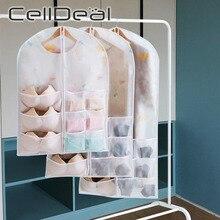 Organizer Foldable Wardrobe Anti-Dust Storage-Bag Underwear Hanging Bra Sundries-Socks