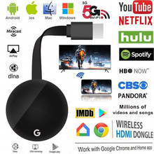 4K Anycast Miracast Airplay Voor Chromecast 3 2 Ultra Draadloze Hdmi Tv Stick 5G Wifi Display Dongle Voor google Thuis Voor Netflix(China)