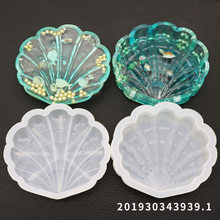 DIY Crystal Epoxy Mould Shell Storage Box Mould Settable Resin Silicone Mould