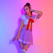 Clothing Costume Skirt Gogo Dance Jazz Party-Outfits Cosplay Sexy Korean Women Adult