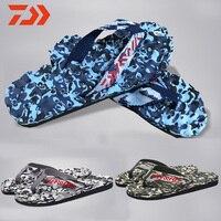 Daiwa 야외 신발 비 슬립 Y-슬리퍼 여름 해변 슬리퍼 낚시 슬리퍼 새로운 DAWA 낚시 신발 낚시 슬리퍼 남자 신발
