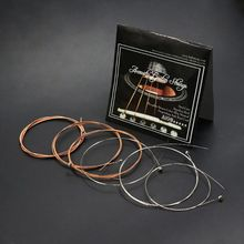 IRIN A108 Acoustic Guitar Strings Phosphor Bronze Color Alloy Wound 1st-6th(.009-.045) ghs strings bb10u bright bronze