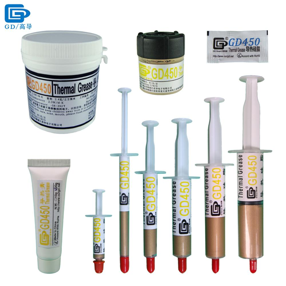 Paste Grease termike GD450 Silicë suva për ngrohje Kompleksi Golden MB05 ST20 SSY1 SY1 SY3 SY7 SY15 SY30 CN20 CN100