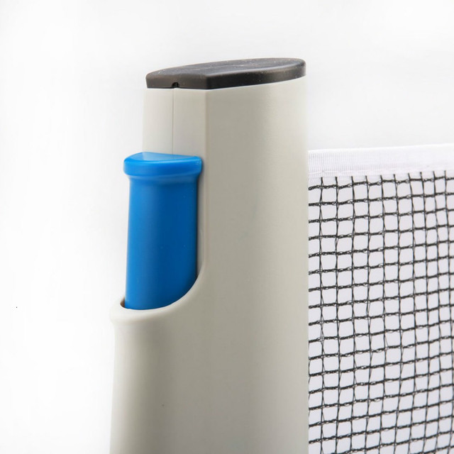Retractable Portable Ping-Pong Plastic Mesh Net Rack Set for Indoor Sport