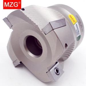 Image 5 - MZG הנחה מחיר BAP400R50 22 4T ארבעה הכנס מהודק עיבוד חיתוך סוף Shank טחנת כתף ימין זווית כרסום קאטר