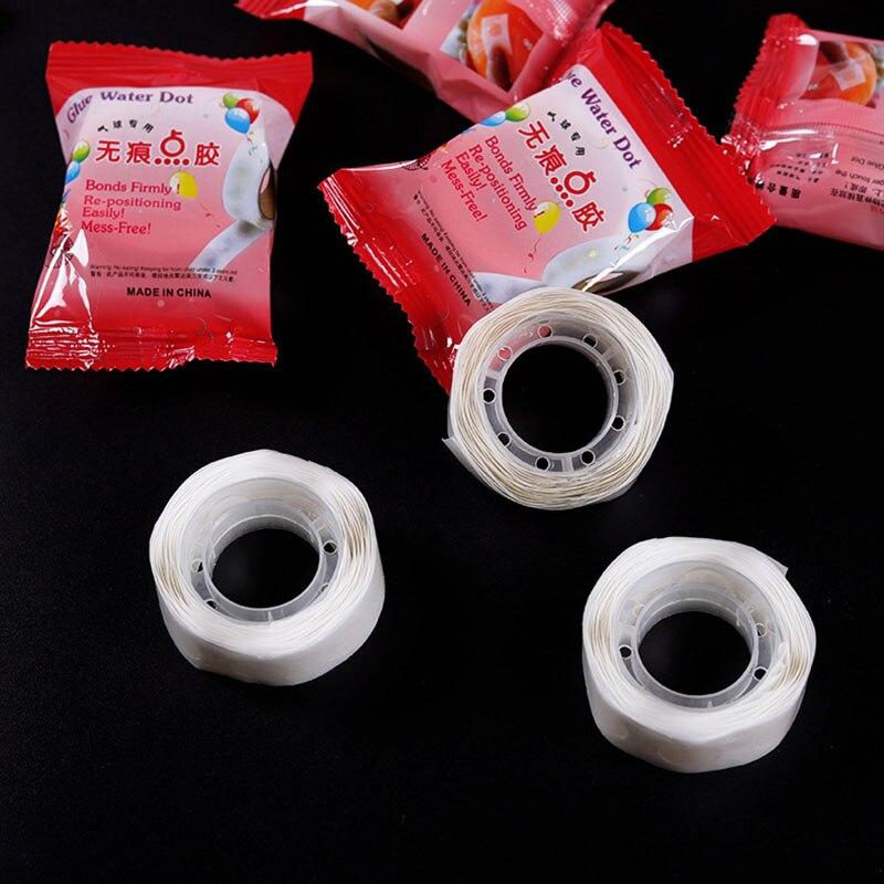 100 шт., суперклейкие двусторонние резиновые шары