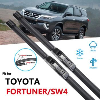 for Toyota Fortuner SW4 AN50 AN60 AN150 AN160 2005~2020 Wipers Blade Car Accessories Windshield Wipers 2006 2015 2016 2018 2019 image
