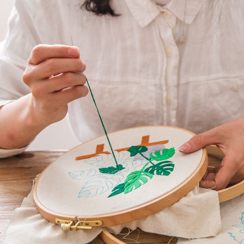 Embroidery Kit Home Decor Handicraft Cross Stitch Simple Style Suitable For Beginners Embroidery Cloth Thread Needle Drawing 1(China)