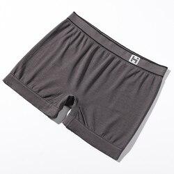Premium Underwea voor Mannen Zilveren Vezel Ondergoed Straling Slip Shorts Mannen Anti-Straling Beschermen Onderbroek Ultra Duurzaam