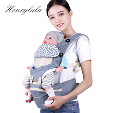 Honeylulu Baby Carrier Kangaroo Four Seasons Sling Facing Waist Ergoryukzak Storage Hipseat Ergonomic Backpack