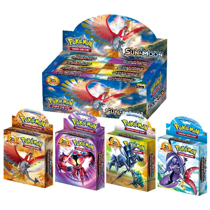 408pcs Pokemon Cards Big Box High-end Gift Box Role Card  Energy Card GX EX MEGA Cards Toy Game Children's Collection