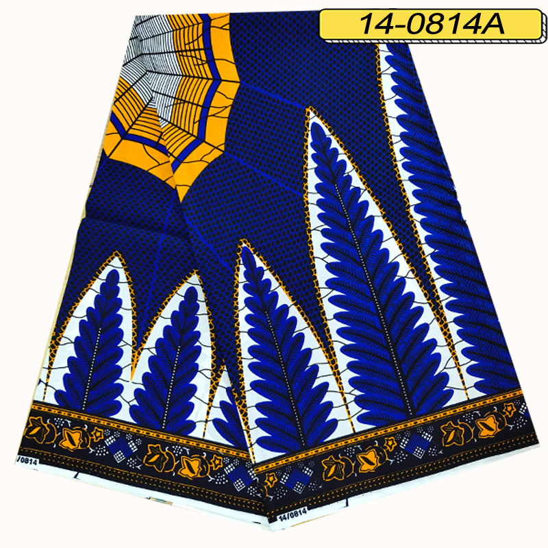 Real Wax Ankara Prints Kente Fabric Sewing African Dress Tissu Patchwork Making Craft Loincloth 100% Cotton Top Quality Material