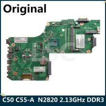 LSC Für Toshiba Satellite C50 C55-A Laptop Motherboard N2820 CPU 2,13 GHz DDR3 V000325170 DB10BM-6050A2623101-MB-A02